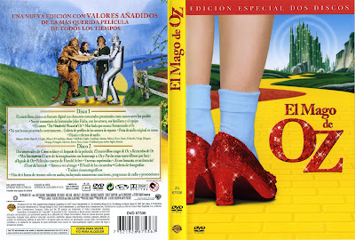 Carátula, Cover, Dvd: El Mago de Oz | 1939 | The Wizard of Oz