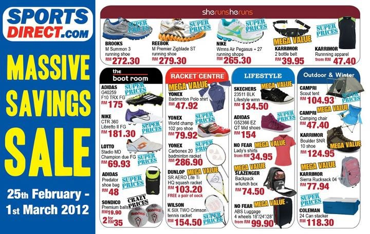 Malaysia hot deals march 2012 sports direct massive saving 2012 sciox Images