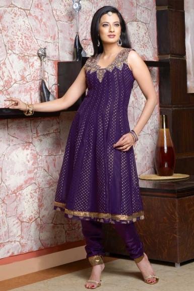 Deep-Violet-Anarkali-Salwar-Kameez