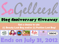Gelleesh Blog Anniversary!