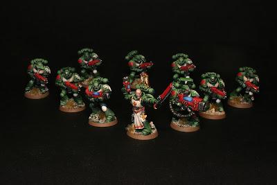 Escuadra Raphael, escuadra táctica de los Ángeles Oscuros