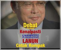 Datuk Seri Najib Razak manifesto Pakatan Rakyat baik dan pratikal
