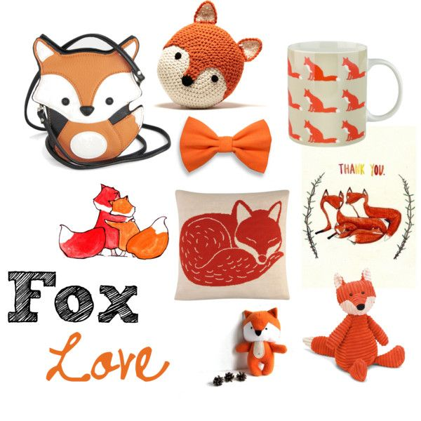 fox renard polyvore