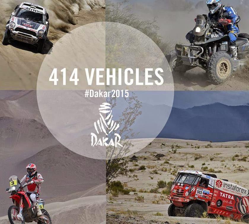Dakar Rallisi nde ilk etap geçildi..