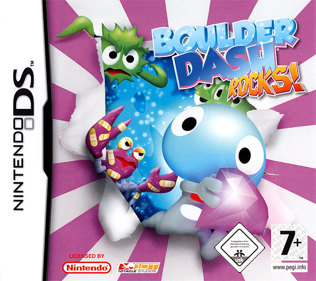 Boulder Dash: Rocks! Nintendo [Ds] [32MB] Español [MF]