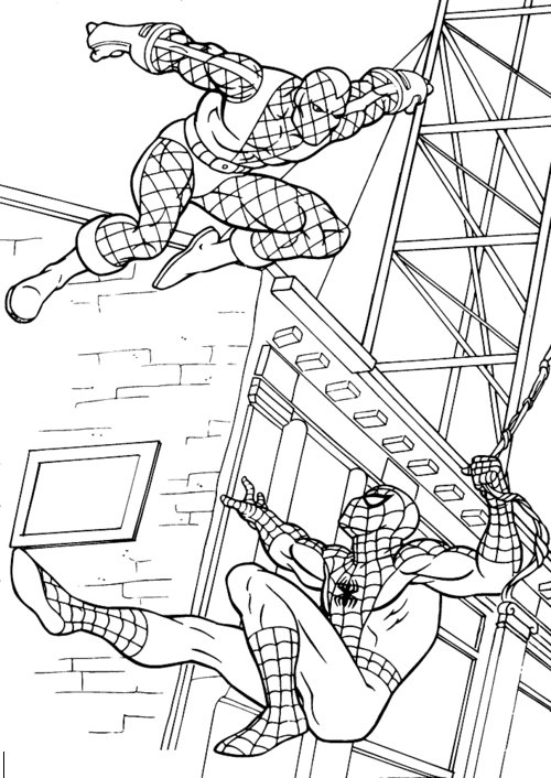 Spiderman Coloring Pages For Kids title=