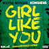 "Audio:  Wayne Wonder ft Konshens ""Girl Like You"""
