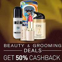 Buy Beauty & Grooming 50% Cashback : BuyToEarn