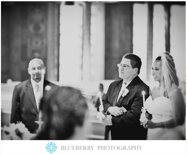 Ascension Cathedral Oakland beautiful indoor church ceremony wedding photography session