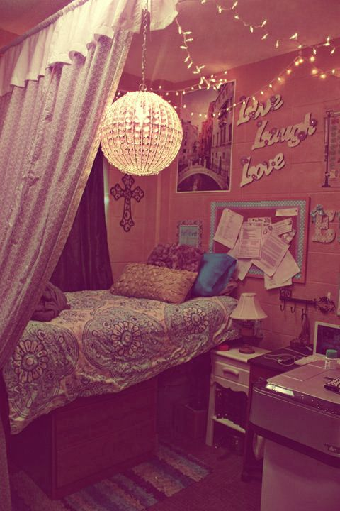 HOPEFUL WANDERING How to create a cute Dorm Room look!! ~ 223856_Really Cute Dorm Room Ideas