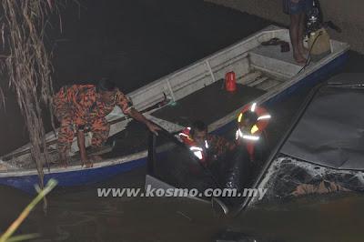 Angkat, kereta, nampak, mayat, Johor Bharu, Hyundai, longkang, besar, Danga Bay, Jenayah, Malaysia