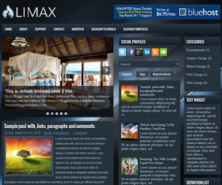 Limax-Blogger-Template