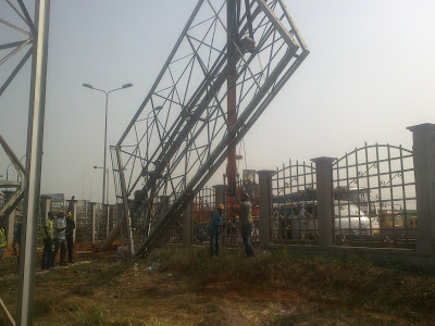 Anambra signage and advertisement Agency dismantling billboards