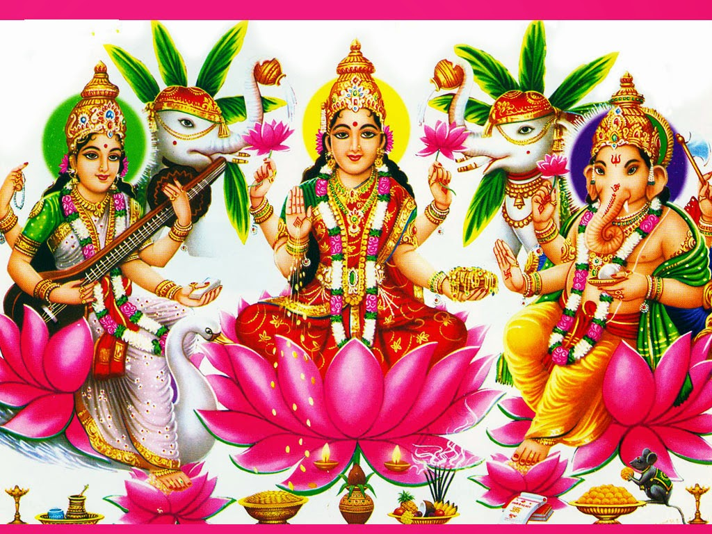 Wonderful Wallpaper Lord Devi - goddess%2Blakshmi%2BGanesha%2Bimages%2B(5)  Image_734850.jpg