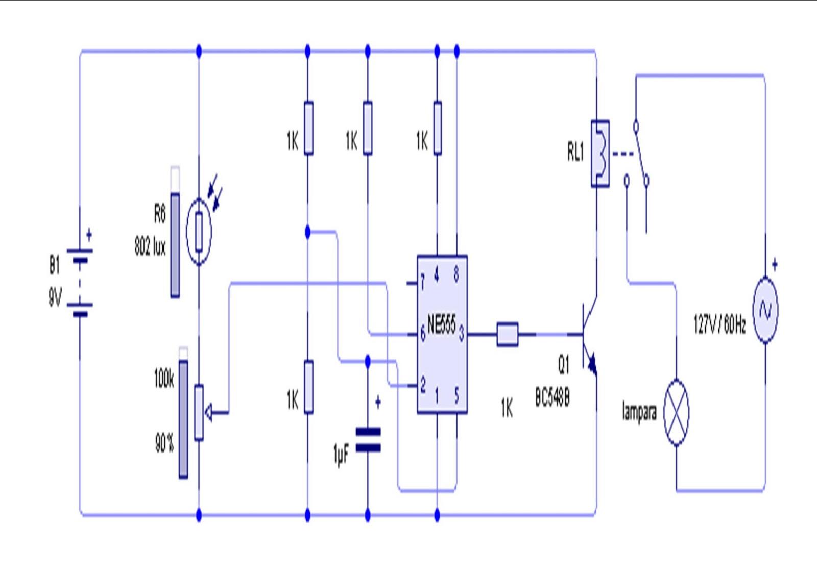 Circuito Optoacoplador : Electronica y mas : abril 2013
