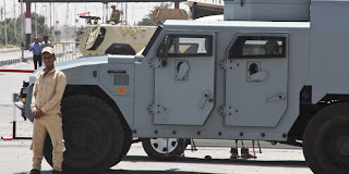 Security headquarters attacked in Arish