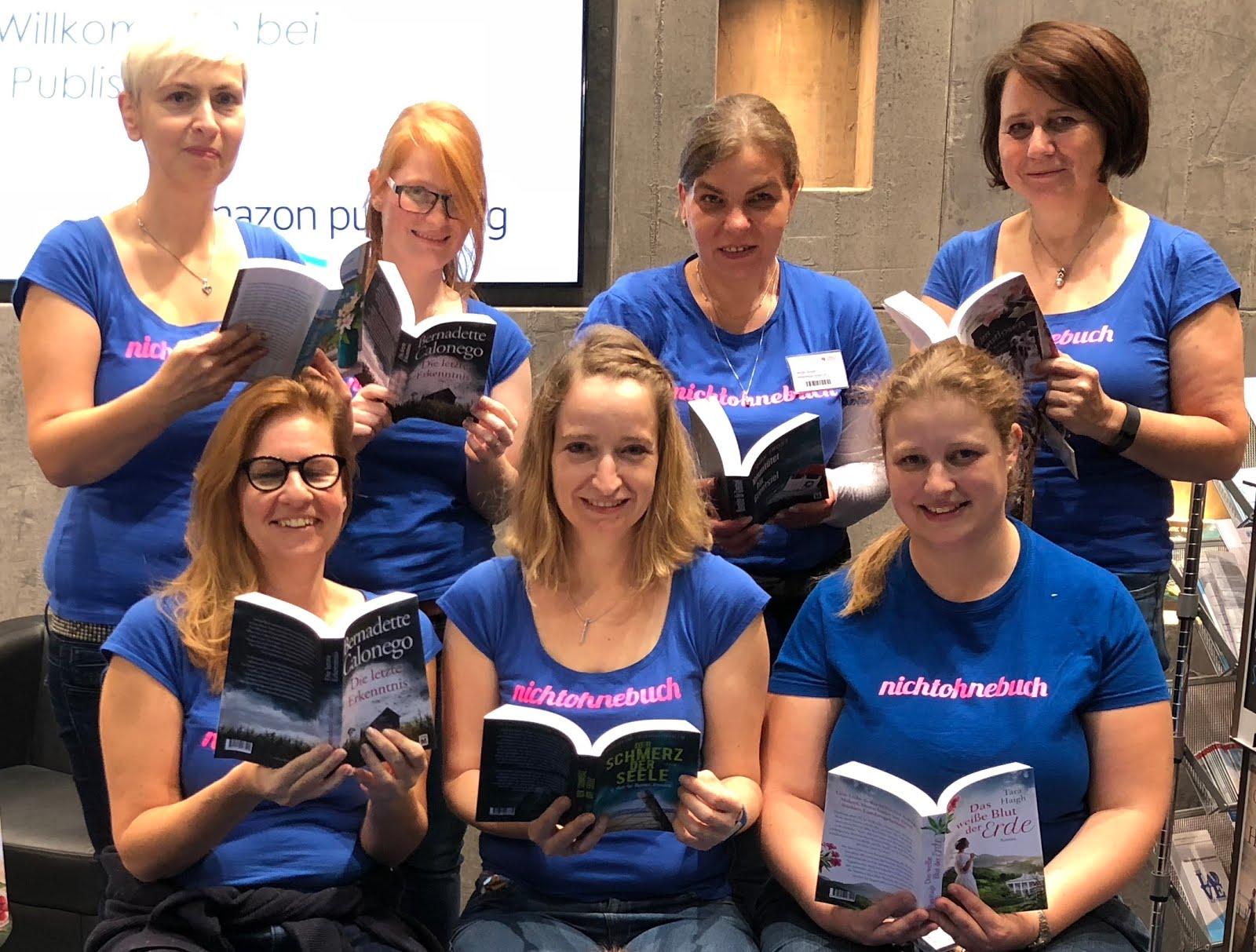 Nicht ohne Buch vereint in Frankfurt