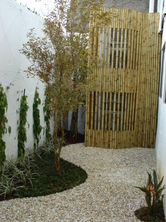 Decora Interi  Biombos para decorar o jardim