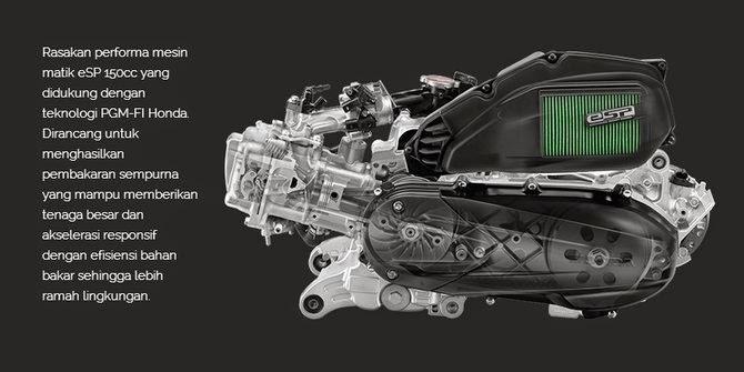 Mesin Honda Vario 150cc
