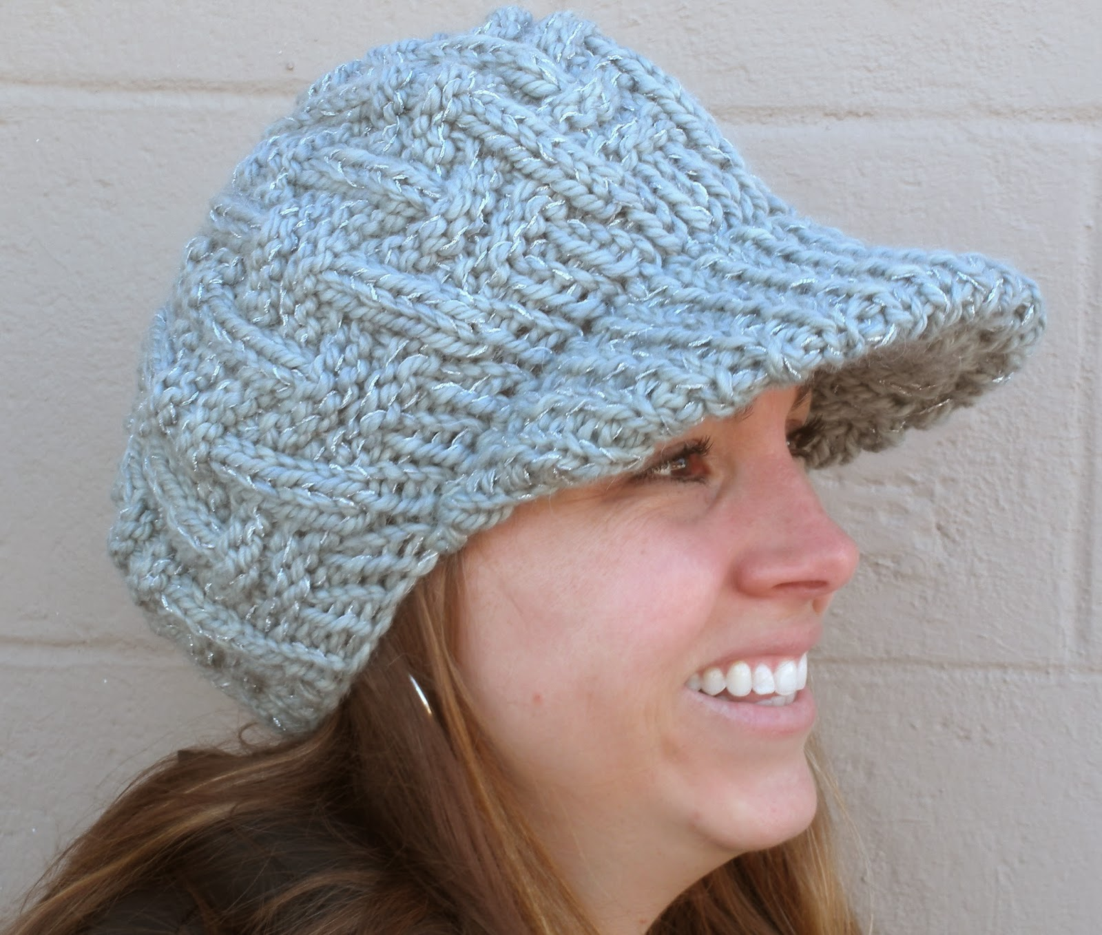 Yarn In, Yarn Out: New Pattern: LoLos Newsboy Cap