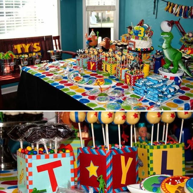 tema festa menino infantil aniversário toy story