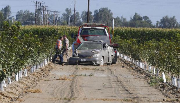 Car Accident Near Orange Cove