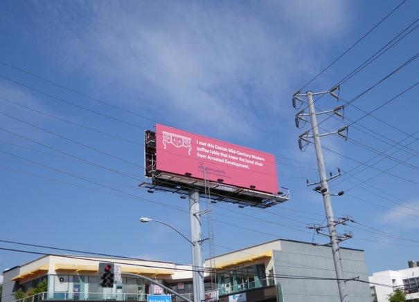 Arrested Development Move Loot billboard