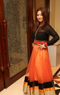 Actress Payal Ghosh Latest Pictures in Salwar Kameez at Desire Designer Launch    (12)