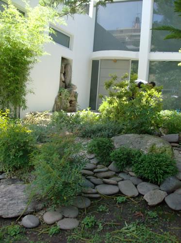 Arte y jardiner a dise o de jardines la fusi n del for Jardines grandes modernos