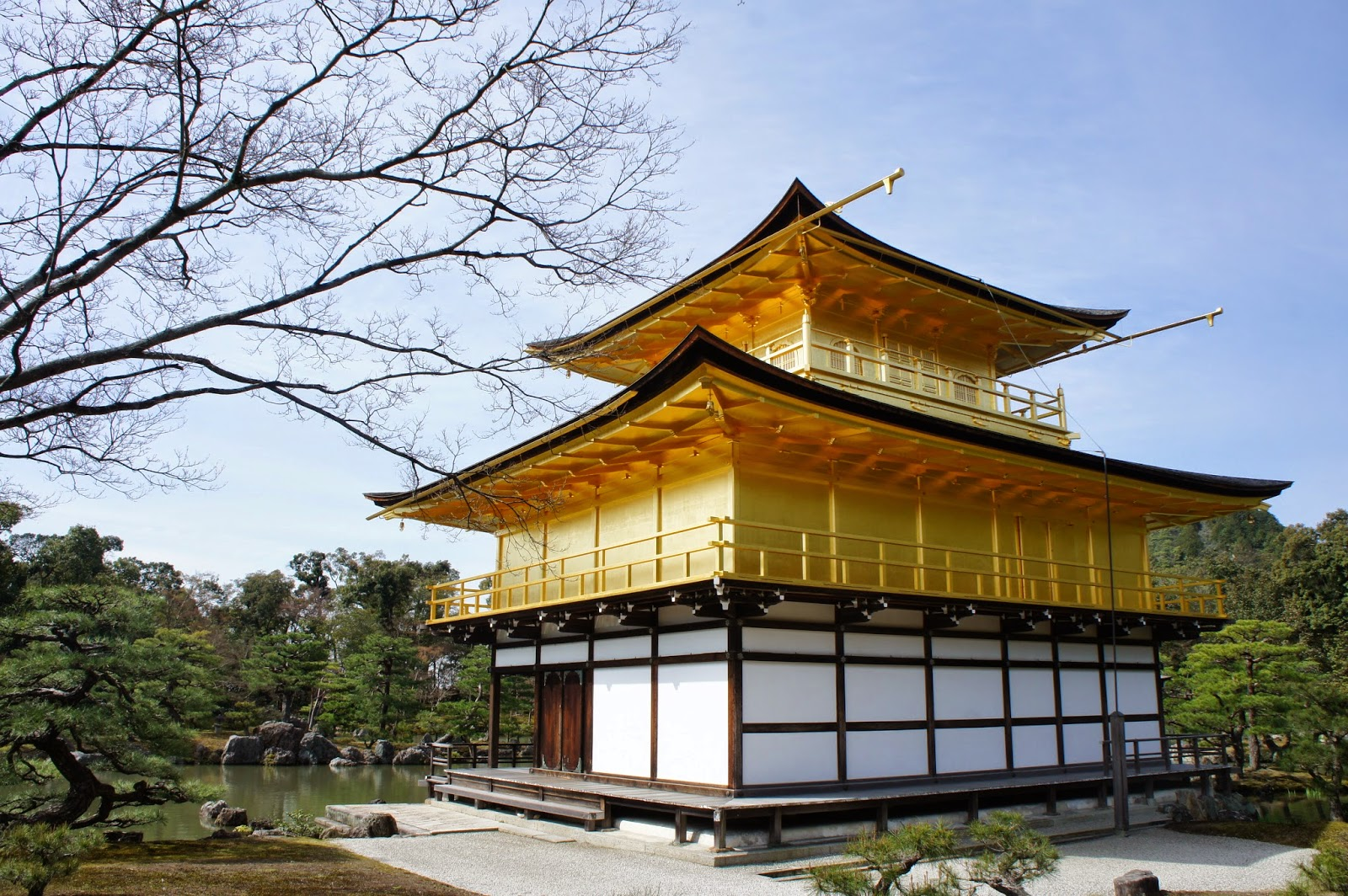 golden temple kyoto how to get there