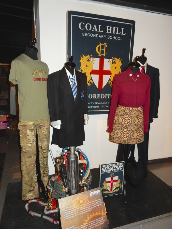 Doctor Who Coal Hill School costumes