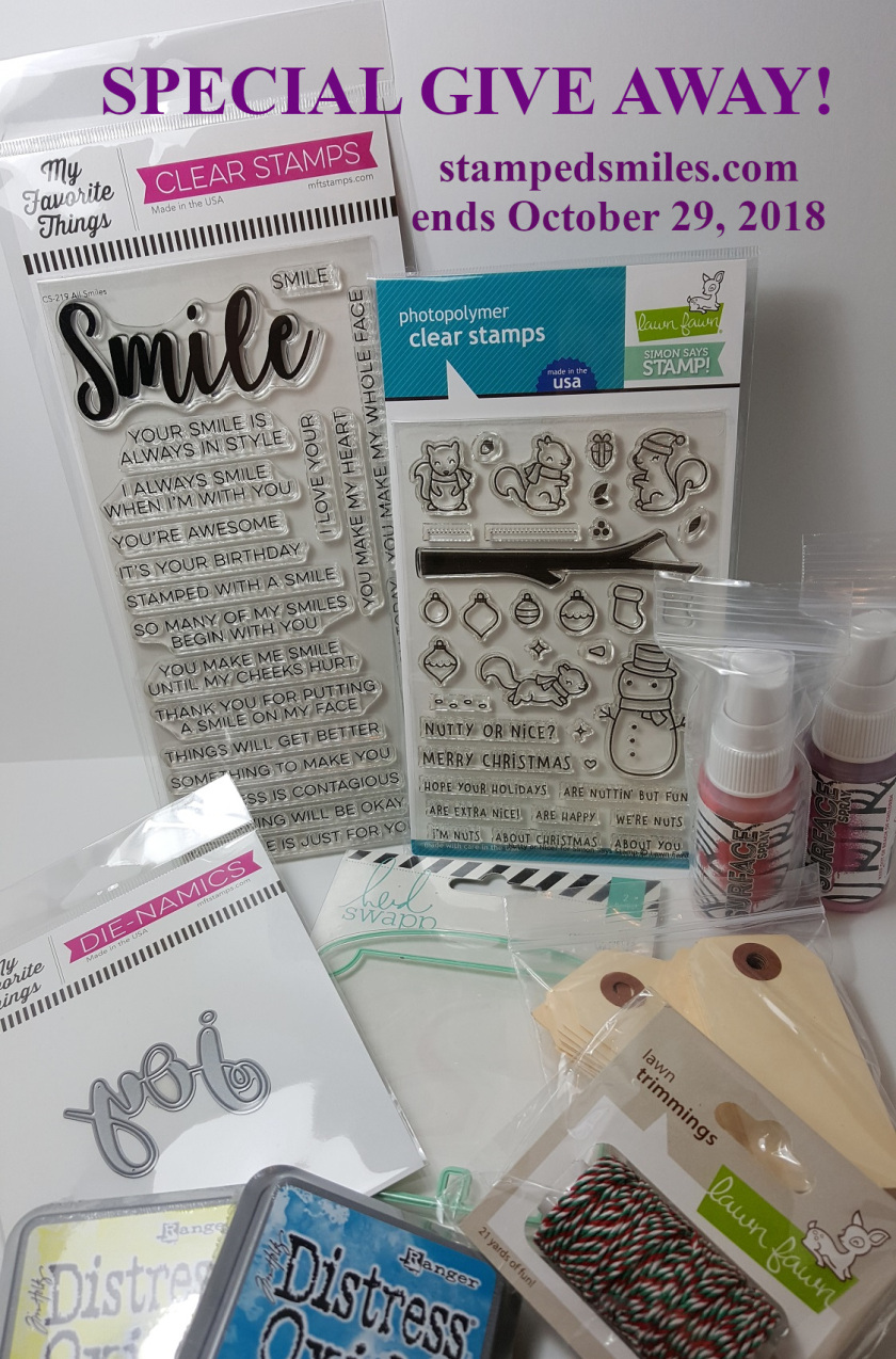Stamped Smiles Giveaway