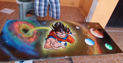 Spray Paint Art Video