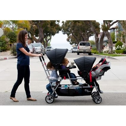 Joovy Big Caboose Stand-On Triple Stroller ~ Review