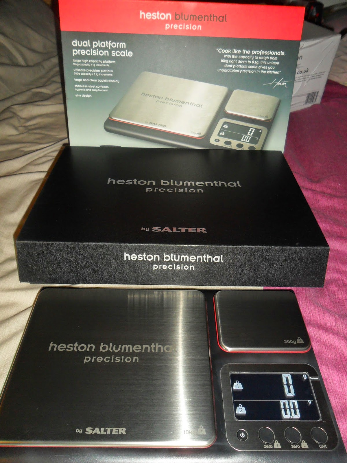 heston blumenthal dual precision scales