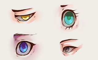 How To Draw And Color Eyes 7