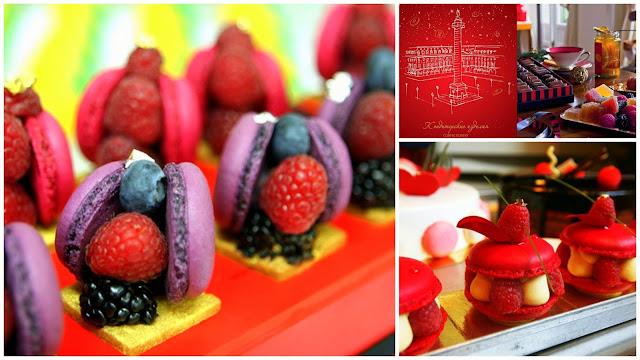 десерты от Hédiard по мотивам ароматов Marc Jacobs