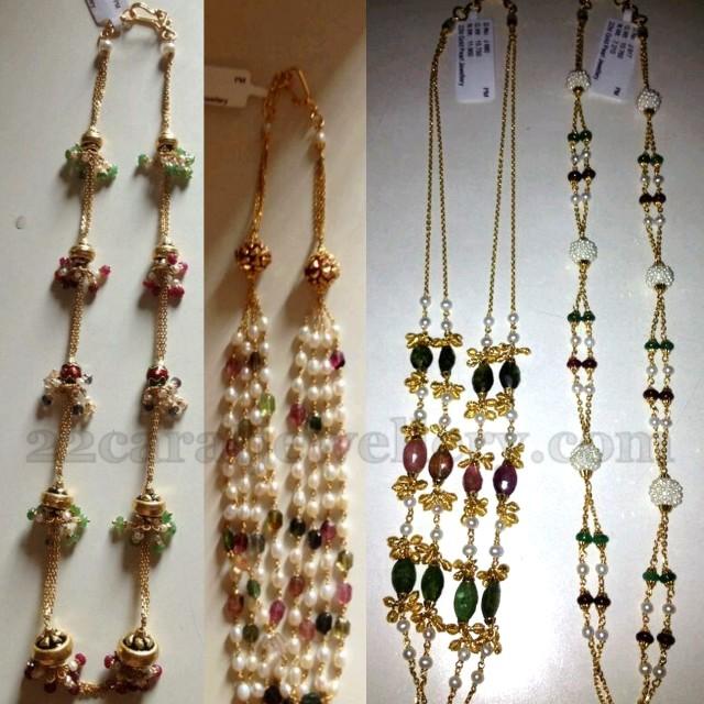 34 Grams Unique Diamond Set: 10 Grams Beads Small Sets