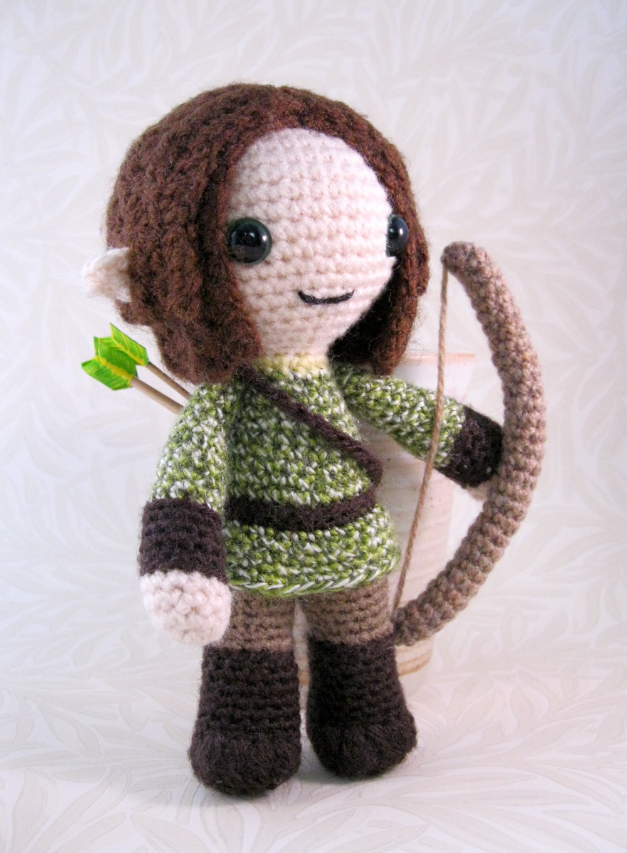 Amigurumi Pointed Ears : LucyRavenscar - Crochet Creatures: Fantasy Amigurumi - Elves