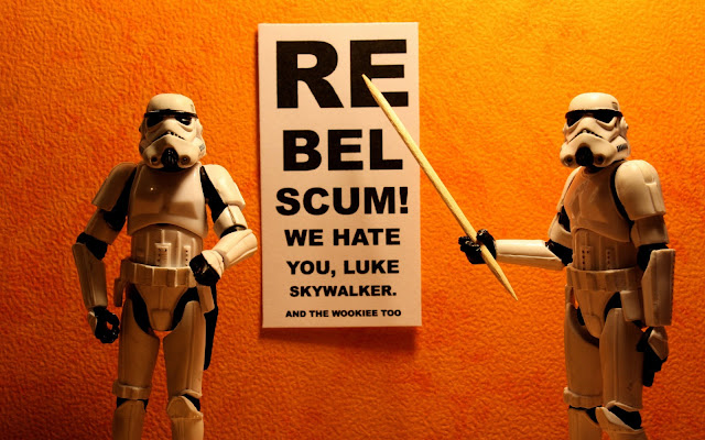 Funny Stormtroopers from Star Wars