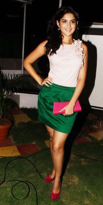 deeksha seth in skirt photo gallery