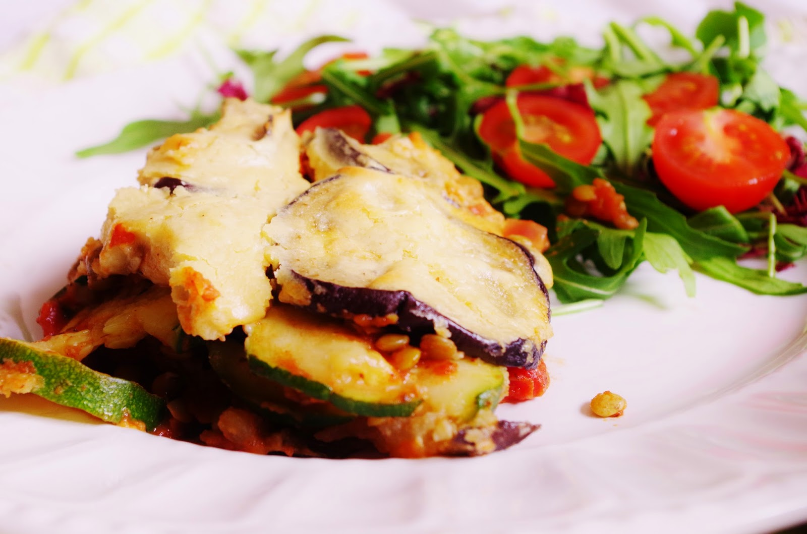 Vegan Moussaka with Cashew Béchamel |Euphoric Vegan