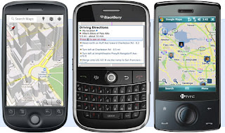 Google Maps Handler Java for mobile phone