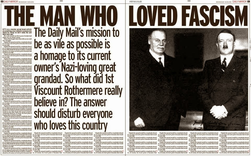 John's Labour blog: The Man who loved Fascism