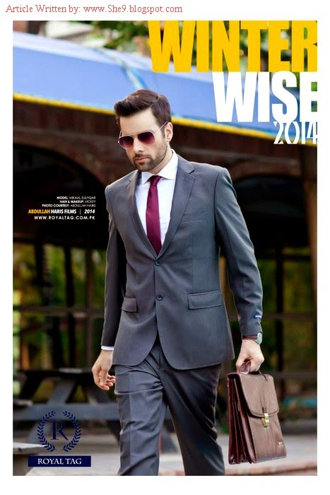 Royal Tag Winter-Fall Dress Collection 2014-2015 for Men