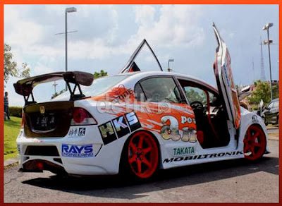 Foto Modifikasi Honda Civic Super Sport
