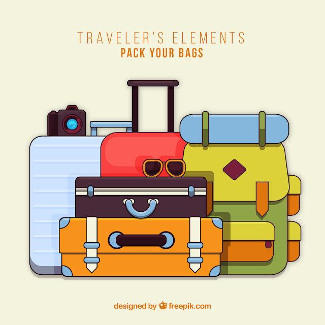 arrumar mala para viagem