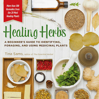 Book review - Healing Herbs by Tina Sams #foraging #plants #herbal #cookbook