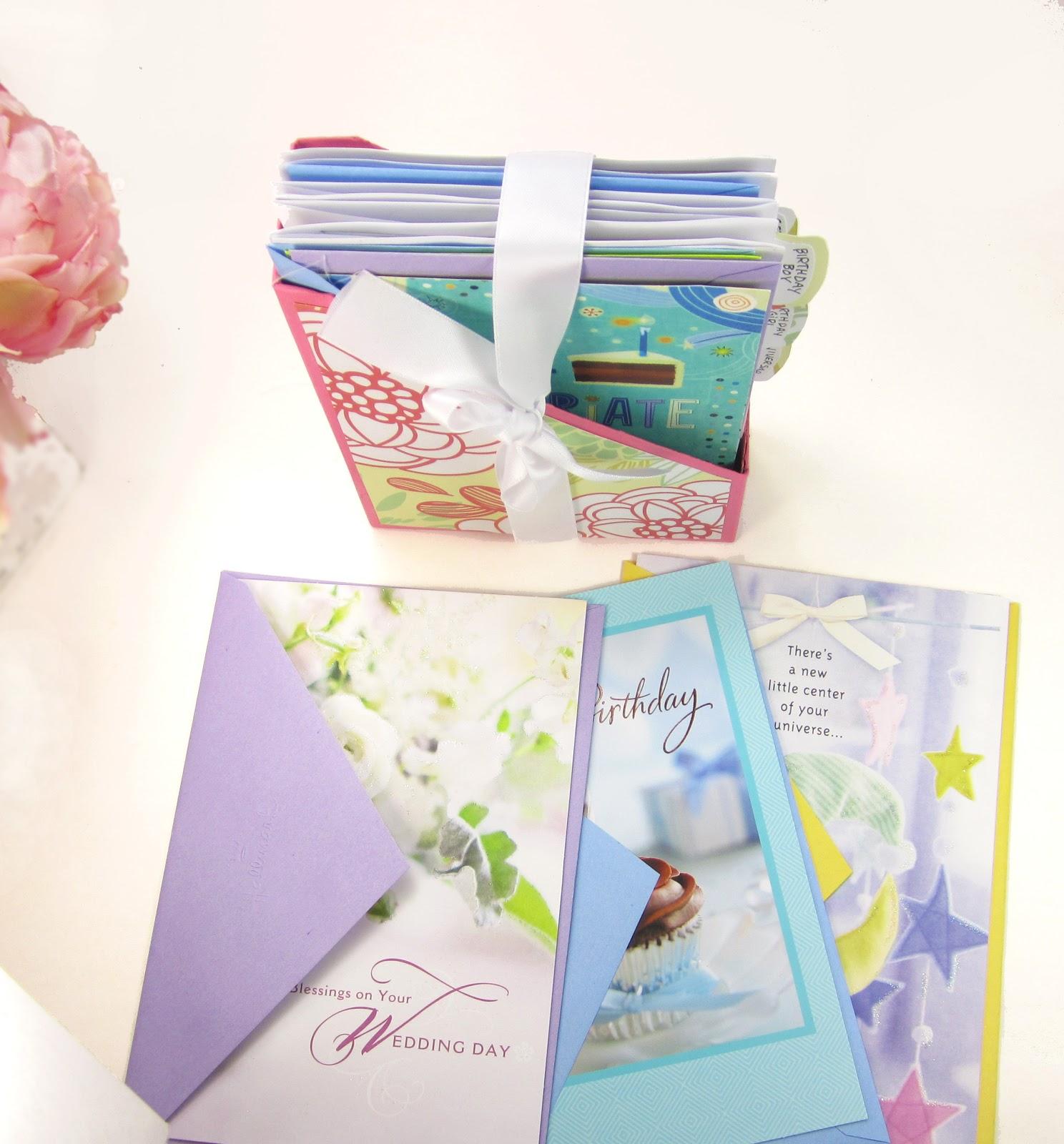 365 Designs Diy Greeting Card Organizer