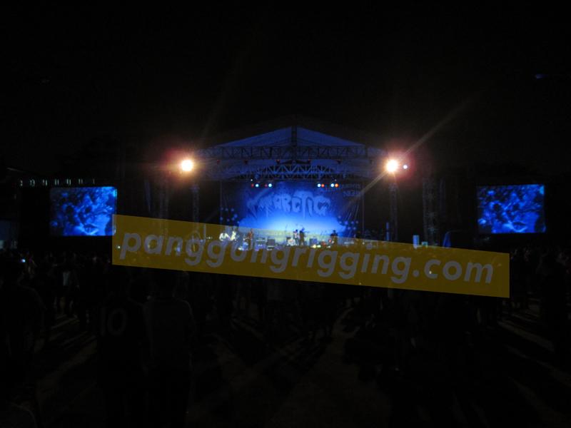 ... rigging, vendor panggung rigging, panggung pensi, panggung acara